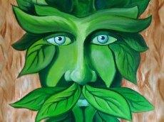 Grüner Mann