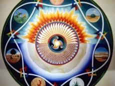 Großes Mandala